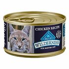 Blue Buffalo Wilderness High Protein Pate Wet Cat Food New