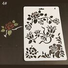 Plastic Embossing Hollow Template Album Painting Paper Card Layering Stencils