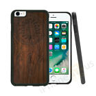 Dream Catcher Wood Effect Grip Gel Case Cover For All Top Mobile Phones