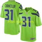 KAM CHANCELLOR Seattle SEAHAWKS Nike COLOR RUSH Limited THROWBACK Jersey S-XXL