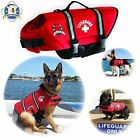 Paws Aboard Red Neoprene Life Jacket, Dog or Cat Life Preserver New