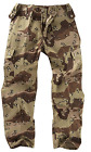 Mens Bdu Military Army Combat Cargo Choc Chip Camo Work Trousers M65 Pants 28-46