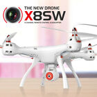 Syma X8SW 2.4G 4CH 6 Axis Gyro RC Quadcopter HD Wifi Camera Drone FPV Real Time