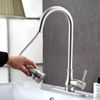 U.S Withdraw b withdraw out Scope Brushed Nickel Kitchen Drop Faucet Deck Mount Gall Mixer Tap