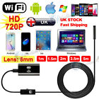 1/3.5/5M WiFi Endoscope Inspection Borescope Camera 6LED For iPhone Android iPad