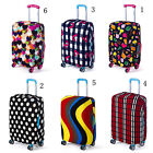 "Elastic Dust-proof Travel Luggage Cover Suitcase Protector 20- 30"" S/M/L B L G"