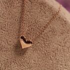 Top Holiday Gifts Stainless Steel Polished Heart Charm Pendant Necklace 18