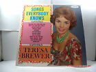 """TERESA BREWER -(LP)- SONGS EVERYBODY KNOWS   """"WALKING THE FLOOR OVER YOU"""" - 1961"""