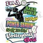 VOLLEYBALL GIRL T-SHIRT  (UNISEX FIT) VOLLEYBALL SPORTS