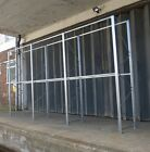 NEW - Galvanised Hanging Garment Racking - Garment on Hanger Storage