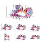 GLASS PRINTS 30 SHAPES Picture Couple Love woman urban 3132 UK