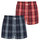 Boxer shorts from Jockey Underwear two-pack of woven loose Boxers