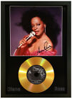 DIANA ROSS SIGNED PHOTO WITH CHOICE OF GOLD DISC
