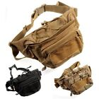 Tactical Military Shoulder Waist Pack Pouch Bum Bag Camping Hiking Outdoor Sport
