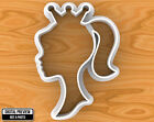 Barbie Girl Princess with Crown Cookie Cutter, Selectable sizes