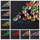 Wholesale 6mm Faceted Rondelle Resin Acrylic Charms Spacer Loose Beads