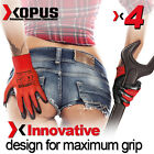 4 Pairs Of High Quality Scaffolding Latex Coated Work Gloves Maximum Grip