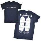 Dive Tank Front & Back Open Water MENS T-SHIRT tee birthday gift scuba diving