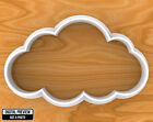 Cartoon Style Cloud Cookie Cutter, Selectable sizes