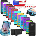 Durable Waterproof Shockproof Dirt Proof Case Cover For Samsung Galaxy S6 S5 S4