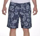 Polo Ralph Lauren Men's $125 Casual Navy Paisley Walk Shorts Size 35 or 36