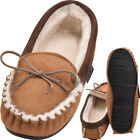Lambland Ladies Traditional Full British Sheepskin Moccasin Slippers