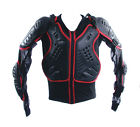 MOTOCROSS MOTORBIKE CE ARMOURED BODY ARMOUR PROTECTION BLACK RED SUIT KIDS ADULT