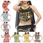 BellyLady Womens Lady Tribal Belly Dance Dancing Halter Banadge Bra Top With Pad