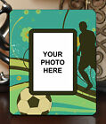 "3.5""x5"" PHOTO FRAME - SOCCER 1 Athlete Ball Game Team Coach Sports Goal Gift"