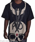 Artful Dodger Mens $74 Big & Tall Scissor Skull Tee Shirt Size 4XL