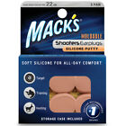 Mack's Shooters Silicone Ear Plugs in Orange, Skin