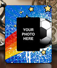 "3.5""x5"" PHOTO FRAME - SOCCER 20 Athlete Ball Game Team Coach Sports Goal Gift"