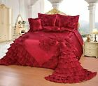 OctoRose Wedding Bedding Comforter Bedspread  Set or BED SKIRT or PILLOWCASES image