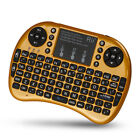 Rii i8+ BT Mini Wireless Bluetooth Backlight Touchpad Keyboard (w/Mouse)