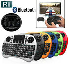 Rii i8 BT Mini Wireless Bluetooth Backlight Touchpad Keyboard with Mouse Combo