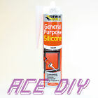 80 ml or C3 310 ml General Purpose Silicone Sealant Clear White Brown Black Grey