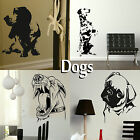 Dog Wall Stickers Transfer Graphic Decal Decor Canine Stencil Large Art Stickers