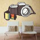 Film Camera Hipster Photo Full Color Wall Decal Sticker KR 123 FRST