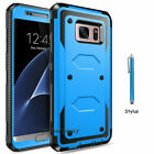 For Samsung Galaxy Note 5 Armor Hybrid Shockproof Rugged Rubber Hard Case Cover