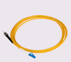 LC to ST fiber optical patch cord jumper cable, SIMPLEX,9/125, 30M/50M/80M/100M