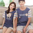 Li-Bear Lovers Women Men Sleepwear Pajama Sets Nightwear Shirt & Shorts M-2XL