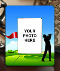 "3.5""x5"" PHOTO FRAME - GOLF 10 Golfer Swing Par Athlete Ball Game Sports Gift"
