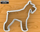 Schnauzer Dog Cookie Cutter, Selectable sizes