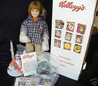 """KELLOGG'S FROSTED FLAKES Of Corn Tammy By Theal Resch Pporcelain Doll 21"""""""