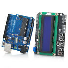 UNO R3 + LCD 1602 Keypad Shield V2.0 Expansion Board Building Blocks for Aduino