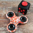 Buy 2 Get 1 For Free Patterned Hand Fidget Spinner   Fidget Cube ADHD Toy Autism