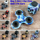 Buy 2 Get 1 For Free Patterned Hand Fidget Spinner + Fidget Cube ADHD Toy Autism
