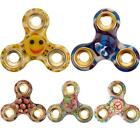 New Stress Relief Kids Adults ADHD Fidget Spinner Aluminium Finger Spinning Toy