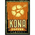 Poster Issue Wall Art entitled Kona Coffee