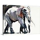 Premium Thick-Wrap Canvas Wall Art entitled African Elephant, 2012